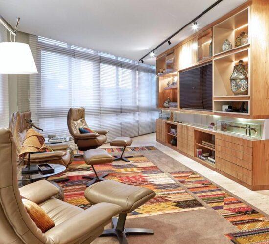 Sala de TV - Apartamento Serra - Rosangela Coelho Brandao